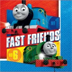 Thomas The Tank Engine All Aboard Large Napkins / Serviettes (Pack of 16)
