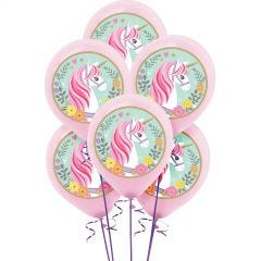 Magical Unicorn Balloons (Pack of 5)