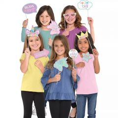 Unicorn Party Photo Props (Pack of 13)