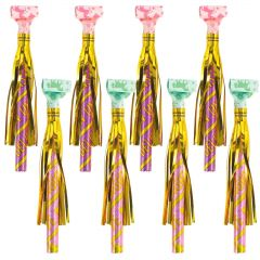 Magical Unicorn Party Blowers (Pack of 8)