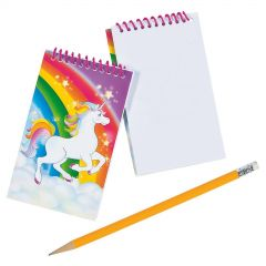 Unicorn Spiral Notepads (Pack of 6)
