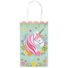 Magical Unicorn Paper Gift Bags (Pack of 10)