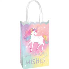 Enchanted Unicorn Paper Gift Bags (Pack of 10)