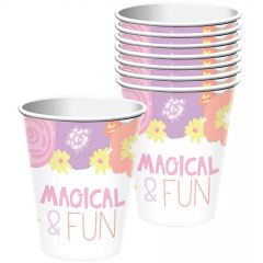 Unicorn Party Paper Cups (Pack of 8)
