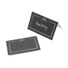 Paper Chalkboard Place Cards (Pack of 50)