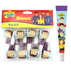 The Wiggles Party Blowers (Pack of 8)