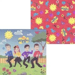 The Wiggles Large Napkins / Serviettes (Pack of 16)