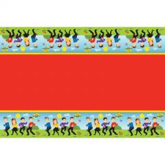 The Wiggles Plastic Tablecloth