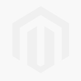 Caribbean Blue Metallic Border Premium Large Plastic Plates (Pack of 10)