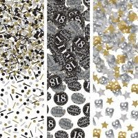 Sparkling Celebration 18th Birthday Confetti/Table Scatters