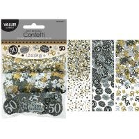Sparkling Celebration 50th Birthday Confetti/Table Scatters
