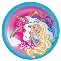 Barbie Large Paper Plates (Pack of 8)