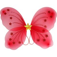 Red Butterfly Wings