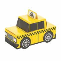 New York City Taxi Treat Boxes (Pack of 12)