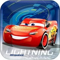 Cars 3 Large Paper Plates (Pack of 8)