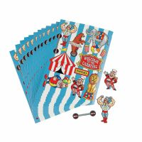 Circus Stickers (12 Sheets)