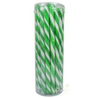 Green Swirl Candy Poles (Pack of 30)