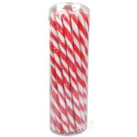 Red Swirl Candy Poles (Pack of 30)
