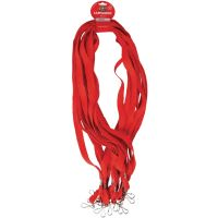 Red Lanyards (Pack of 12)