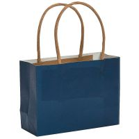 Blue Paper Favour Bags (Pack of 12)