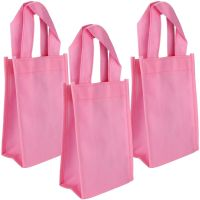 Pastel Pink Paper Favour Bags (Pack of 12)