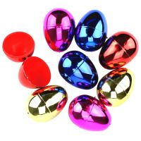 Gold Fillable Plastic Easter Eggs (Pack of 8)