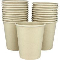 Eco Biodegradable Paper Cups 285ml (Pack of 20)