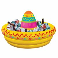 Inflatable Mexican Sombrero Drinks Cooler