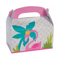 Flamingo Lolly/Treat Boxes (Pack of 12)