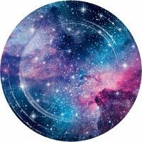 Space Blast Large Paper Plates (Pack of 8)