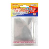 Clear Plastic Party Bags (Pack of 25)
