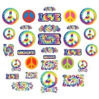 Feeling Groovy Cutout Decorations (Pack of 30)