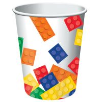 Block Party Paper Cups (Pack of 8)