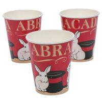 Magic Party Paper Cups (Pack of 8)