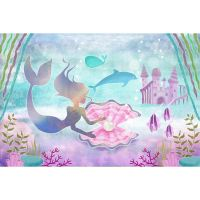 Under the Sea Large Fabric Backdrop