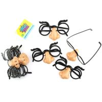 Small Funny Nose Glasses (Pack of 4)