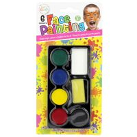 Face Painting Kit (6 Colours)