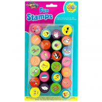 Assorted Fun Stamps (Pack of 26)