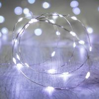 Cool White LED Micro Lights