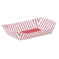 Cardboard Snack Trays (Pack of 4)