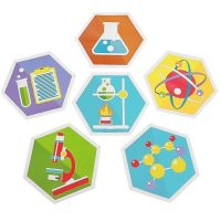 Science Party Wall Cutouts (Pack of 6)