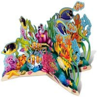 Coral Reef 3D Stand Up Decoration