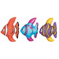 Inflatable Tropical Fish (Pack of 3)