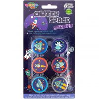 Outer Space Stamps (Pack of 6)