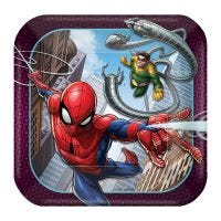 Spiderman Webbed Wonder Small Paper Plates (Pack of 8)