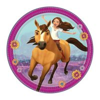 Pack of 8 Spirit Riding Free Small Paper Plates