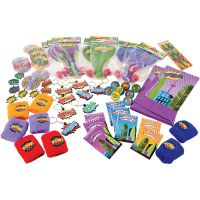 Block Mania Paper Lolly/Treat Bags (Pack of 12)