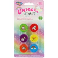 Unicorn Stamps (Pack of 6)