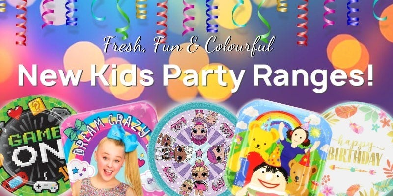 New Kids Party Ranges