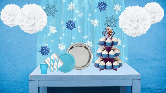 Frozen Wonderland Party - Table Styling